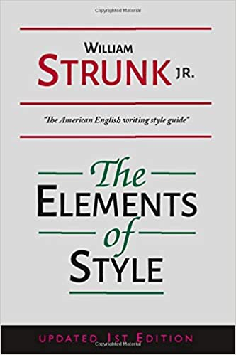 The Elements of Style - William Strunk J.R.